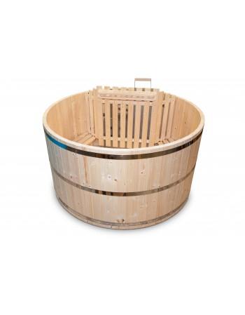 Bain nordique en bois - Le modèle de base