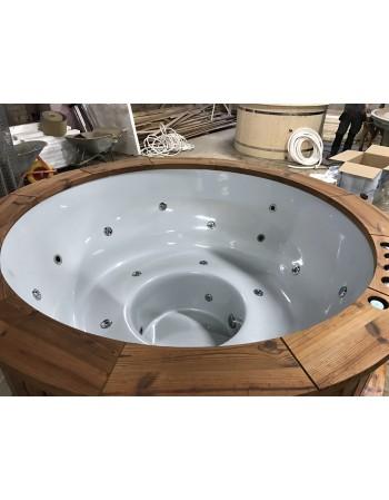 Bain de massage fait de fibre de verre