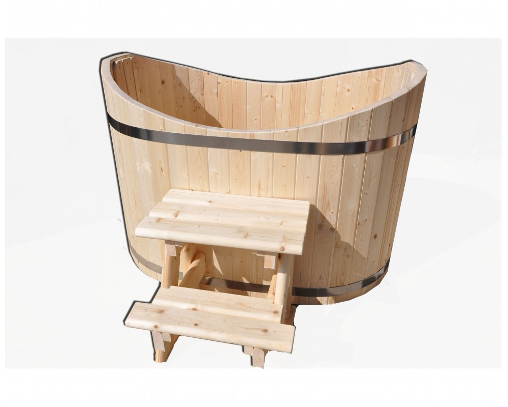 baignoire ofuro bain nordique ofuro en bois. Black Bedroom Furniture Sets. Home Design Ideas