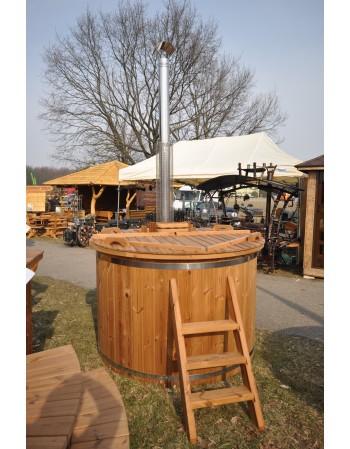 Bain nordique modèle éco -  en bois traité thermiquement diamètre 160 cm