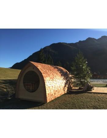 Extérieur sauna Igloo design