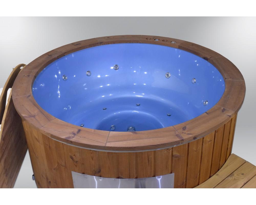 Spa exclusif en fibre de verre bleu couleur 182cm