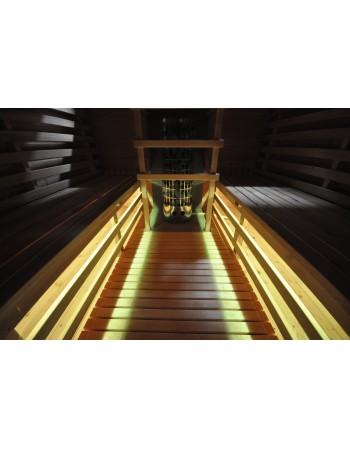 Éclairage led pour sauna