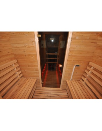 Isolation des murs de sauna