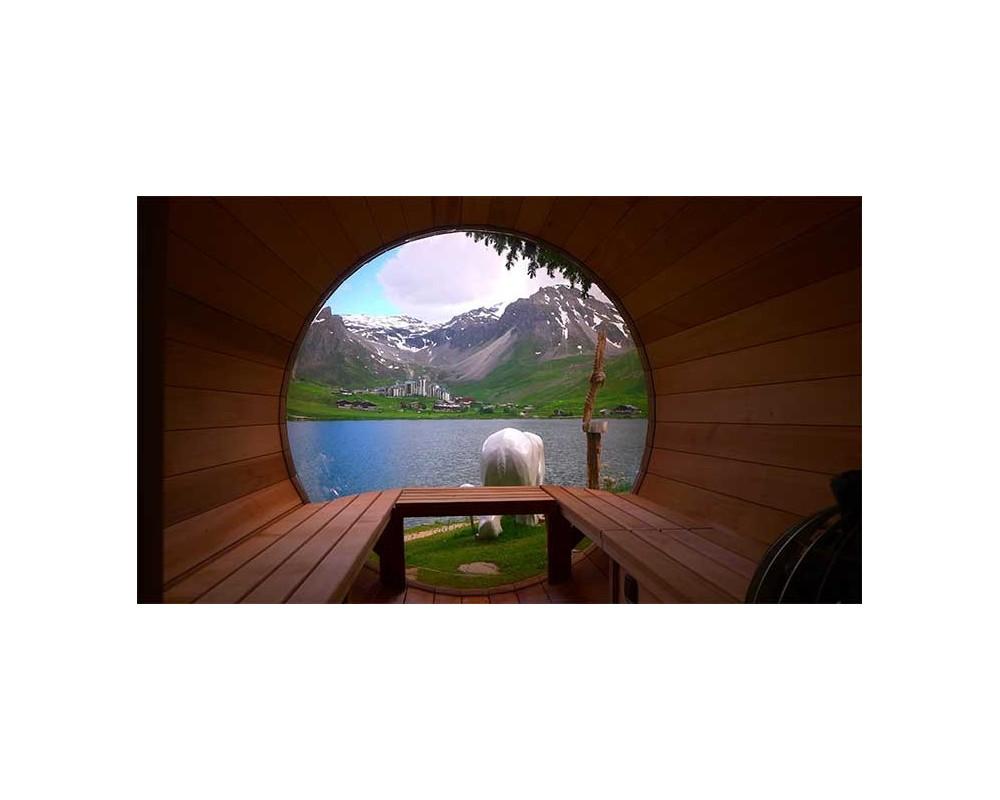 bath fen tre panoramique. Black Bedroom Furniture Sets. Home Design Ideas